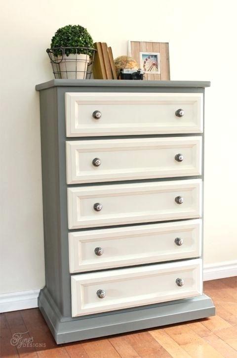 Refinish Cherry Furniture White Refinished Dresser Best
