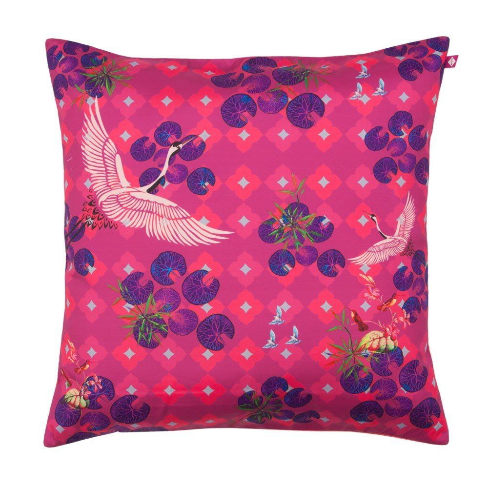 Red paradise cushion cover paradise cosy and modern