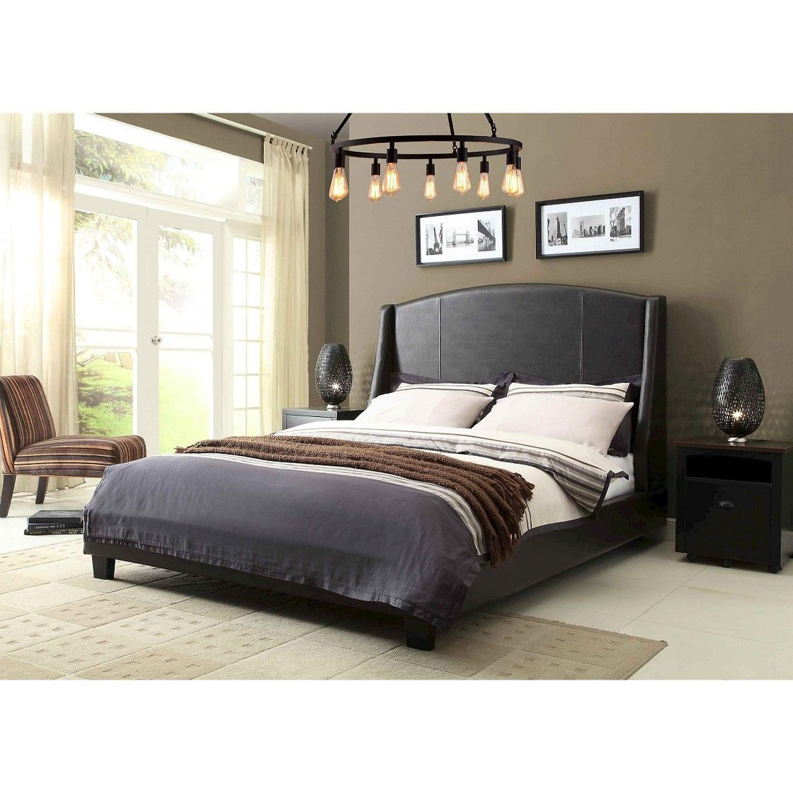 Fashion Bed Group Beverly Bed - Sable (King)