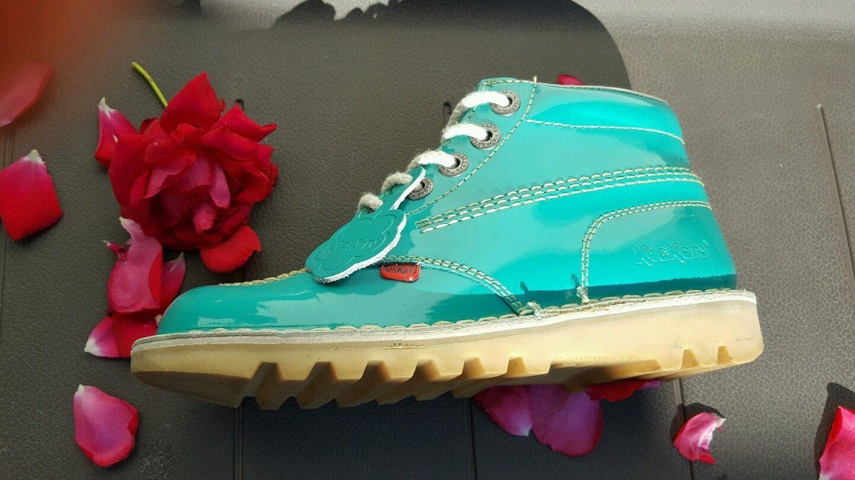 Green Girls Kick Hi Boot Size UK