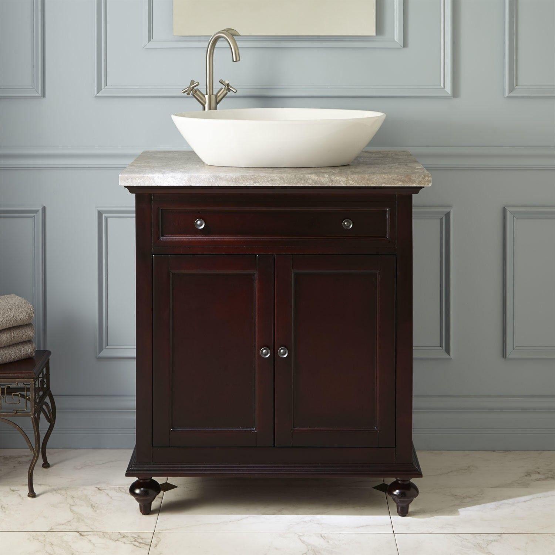 30 Merlot Vessel Sink Vanity Vessel Sink Vanity Bathroom