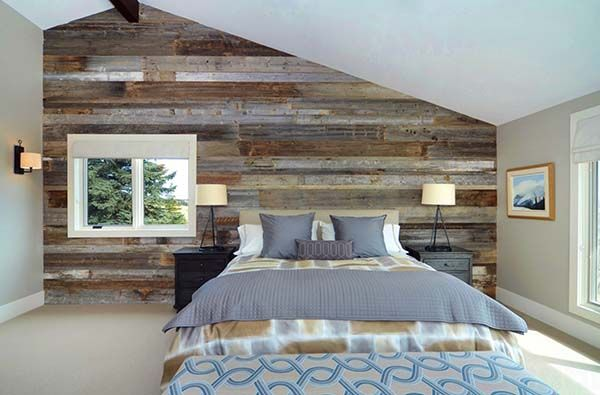 39 Jaw Dropping Wood Clad Bedroom Feature Wall Ideas Feature Wall Bedroom Wood Accent Wall Bedroom Bedroom Wall Designs