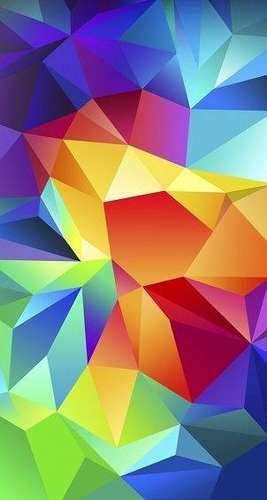 Colorful Bold Dimons Abstract Unqiue Wall Art Home Decor