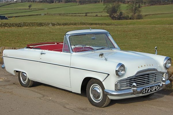 Ford Zodiac Mk2 Convertible 1961 Classic Cars Ford Zephyr Cars