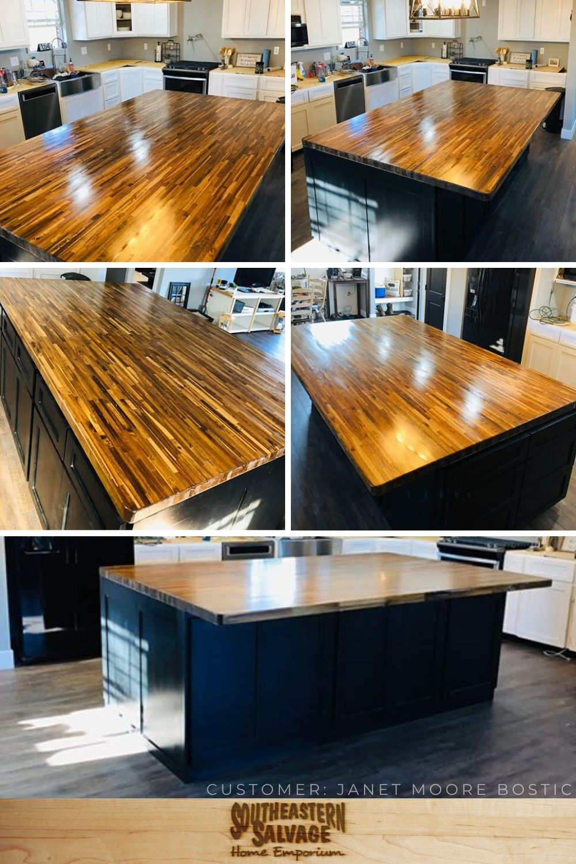 Butcher Block Countertops Southeastern Salvage Home Emporium In 2020 Butcher Block Countertops Countertops Kitchen And Bath