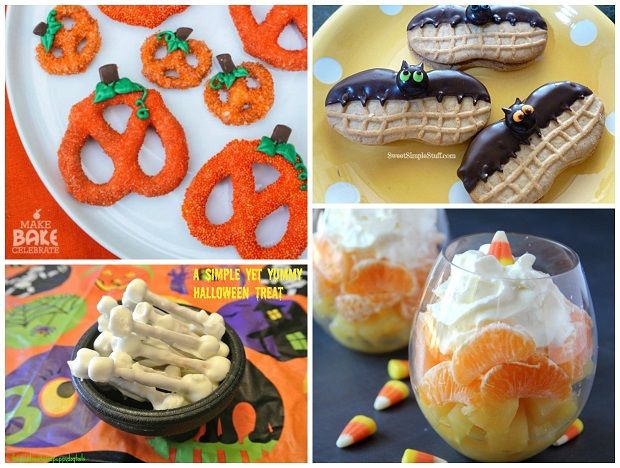 easy halloween snacks for kids - Halloween Kid Foods To Make