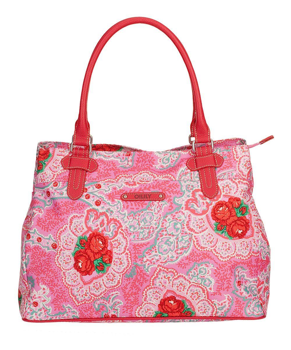 Oilily Pink Apron Shopper