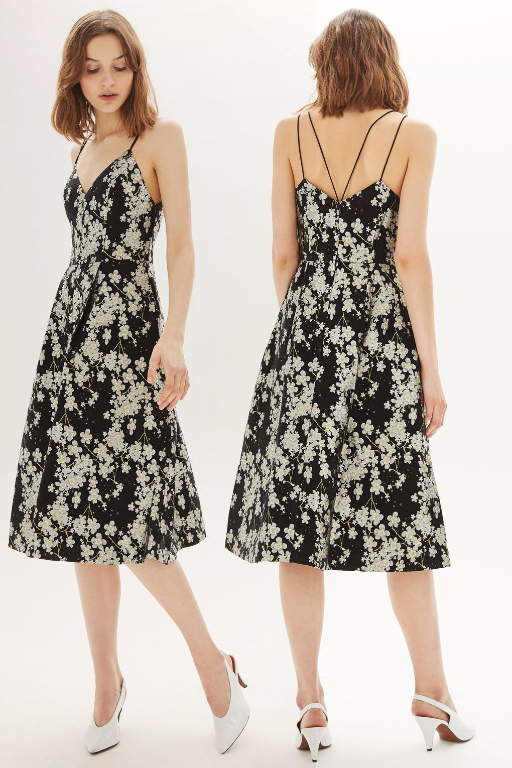Pretty Formal Occasion Dress The Florals Make It Perfect For A