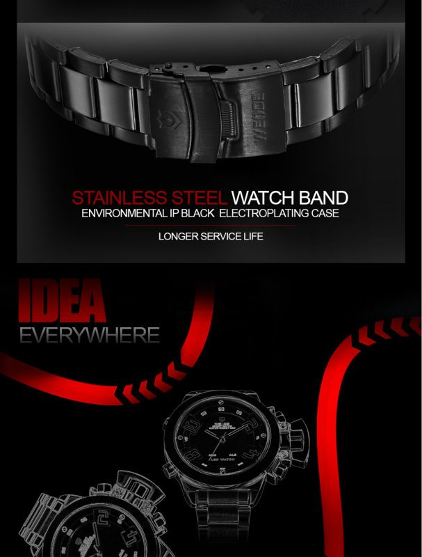Elegant Digital Sports Watch - Online shopping for Smart Watches best cheap deals from a wide selection of high quality Smart Watches at: topsmartwatchesonline.com