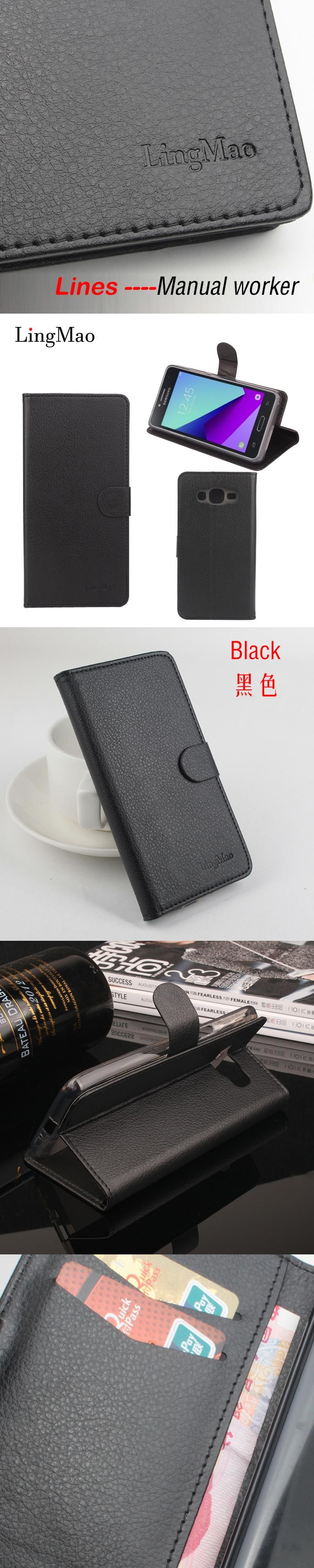 Phone cover for Samsung Galaxy Prime Case Leather Luxury Wallet Phone Bag Case for Samsung Galaxy Prime