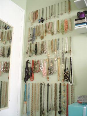 Pretty Petals: {DIY Organizing} Jewelry Storage and Display