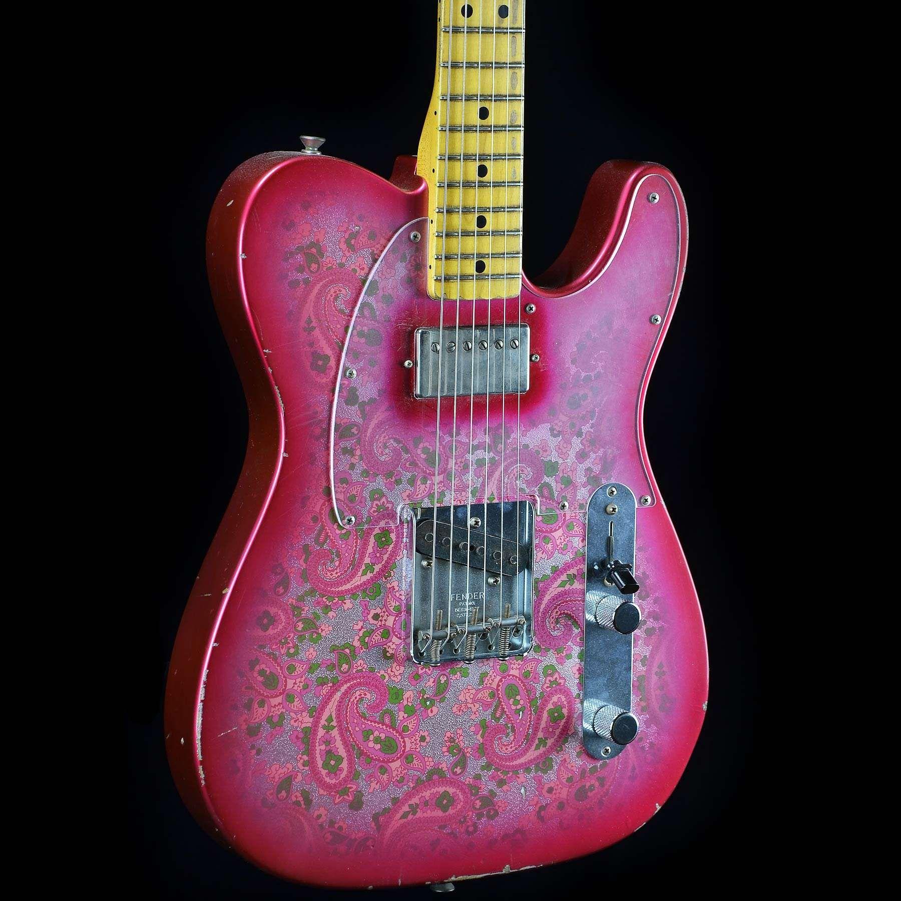 Fender Masterbuilt Jason Smith 1968 Pink Paisley Telecaster Tele Les Paul Black Beauty Wiring Mylespaulcom Gibson Guitars