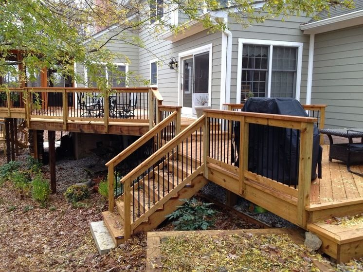 Traditional Deck by American Deck and Patio   Garten   Pinterest ...