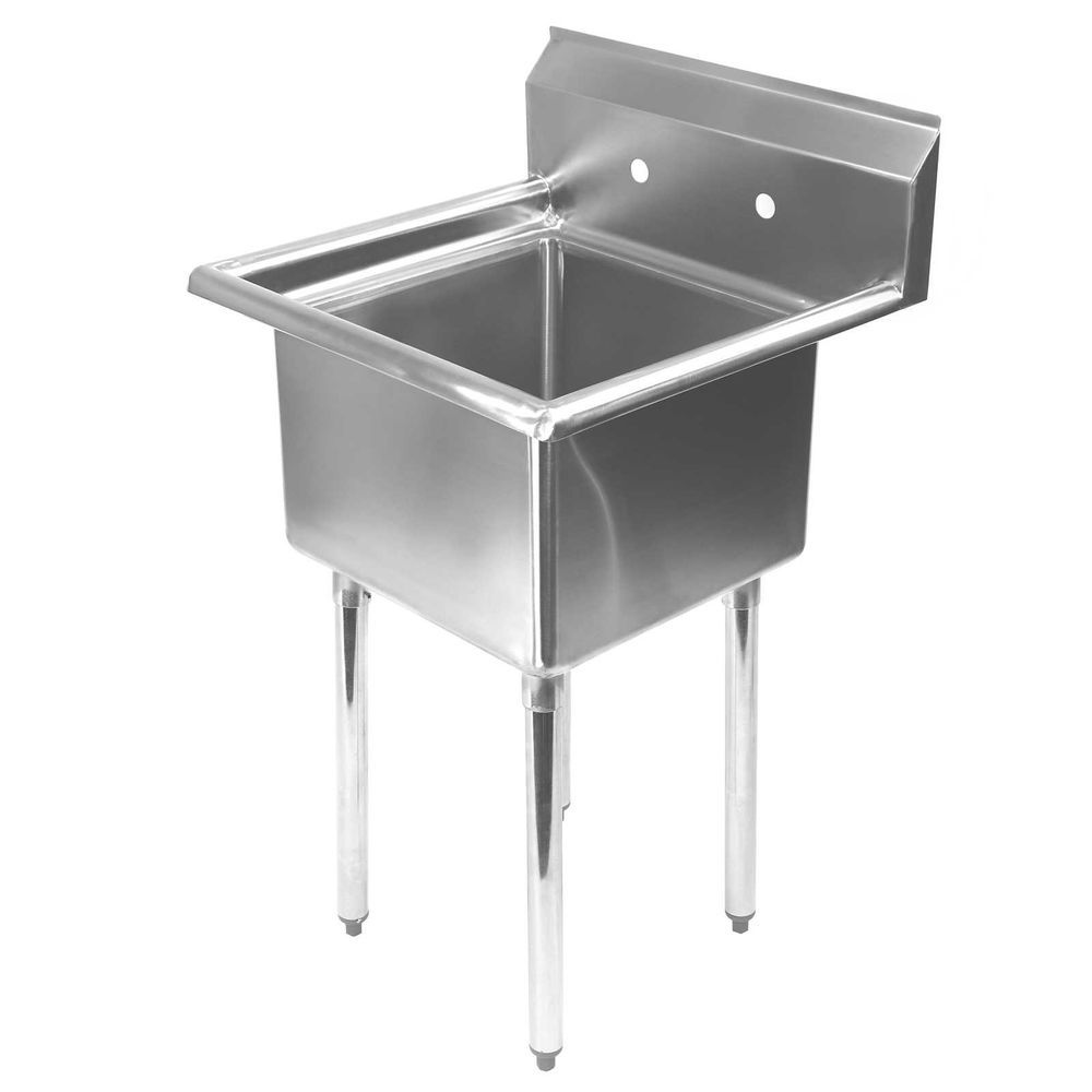 Details About Stainless Steel Utility Sink For Commercial Kitchen