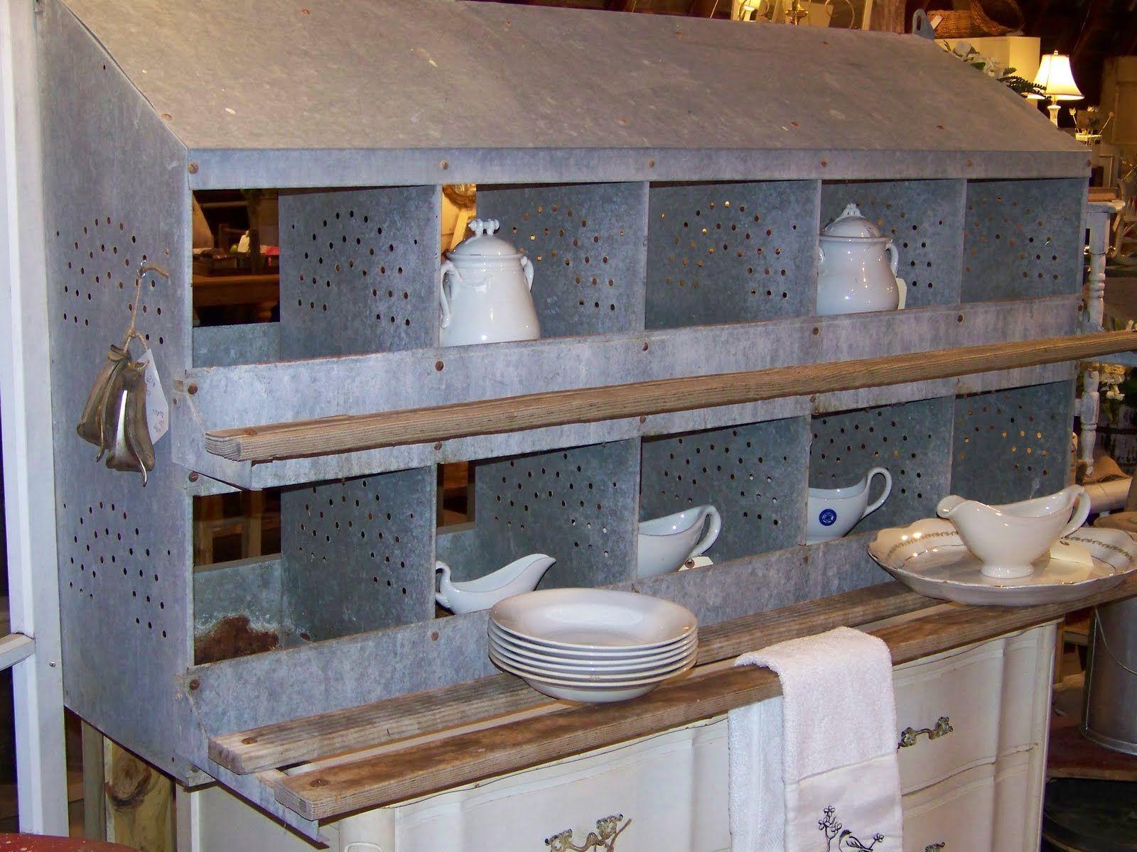 Chicken Coops Nesting Box Ideas
