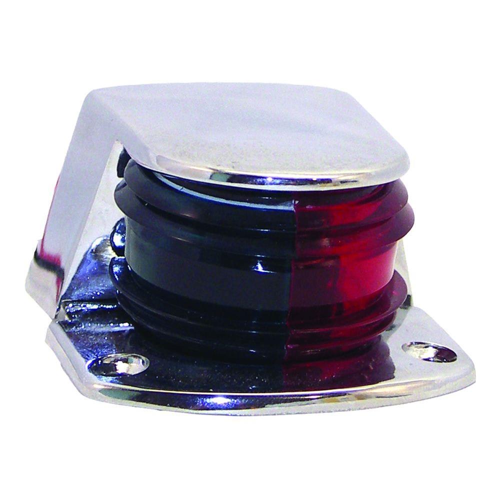 Bi Color Chrome Zamac Bow Navigation Light Classic Br51202