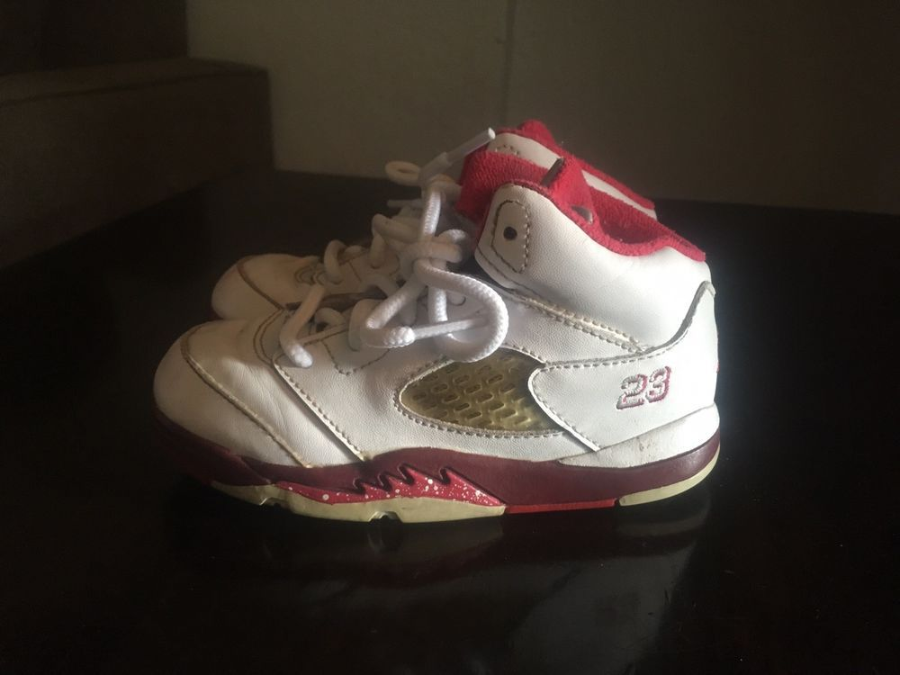 39472630e5d21e Nike Air Jordan 5 Retro Toddler Boy Shoes Size 8c  440890-101 VGUC  fashion   clothing  shoes  accessories  babytoddlerclothing  babyshoes (ebay link)