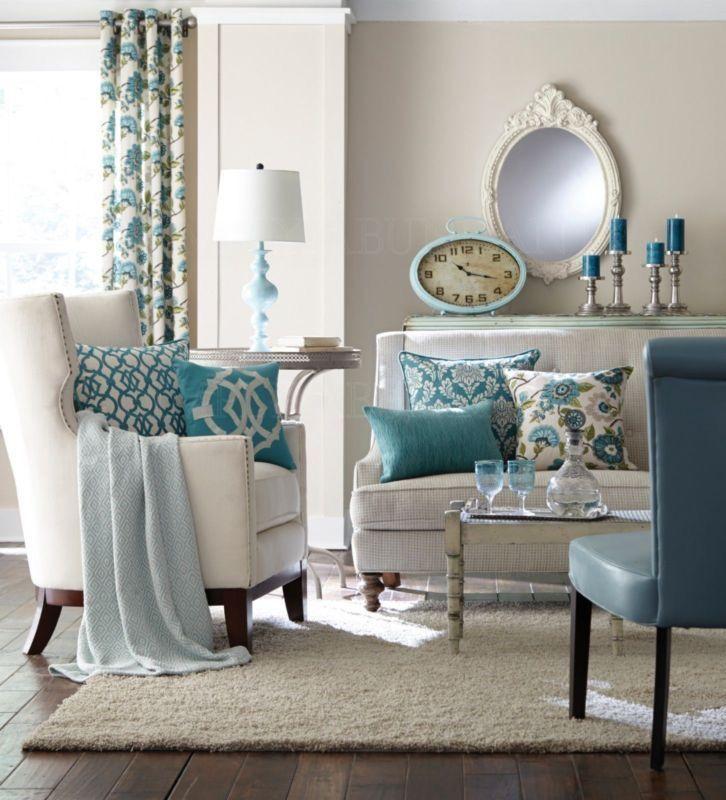 Türkis, Eintichten, İnspiration #home #livingroom Living Room