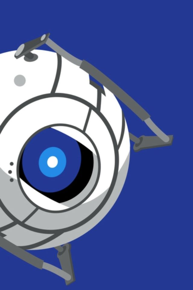 Wheatley Animated Wallpapers For Mobile Portal 2 Funny Brain Damage