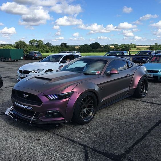 Liberty Walk Mustang Pic From Adinharris At North Weald Rwyb