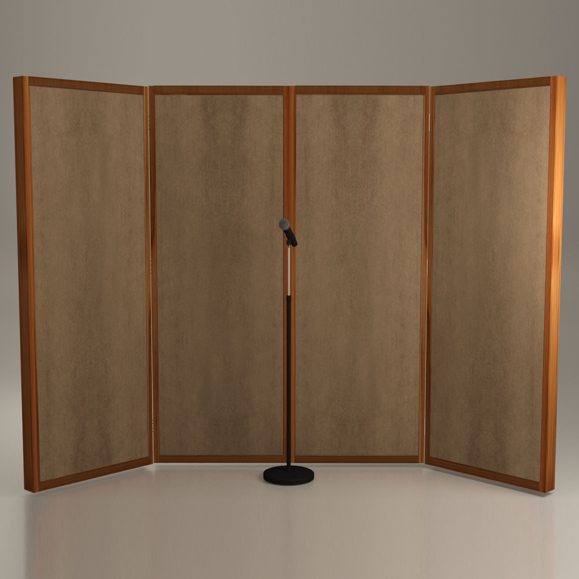 Booth vocal booth system 6 39 x8 39 x2 in 2019 home studio - Bedroom studio acoustic treatment ...