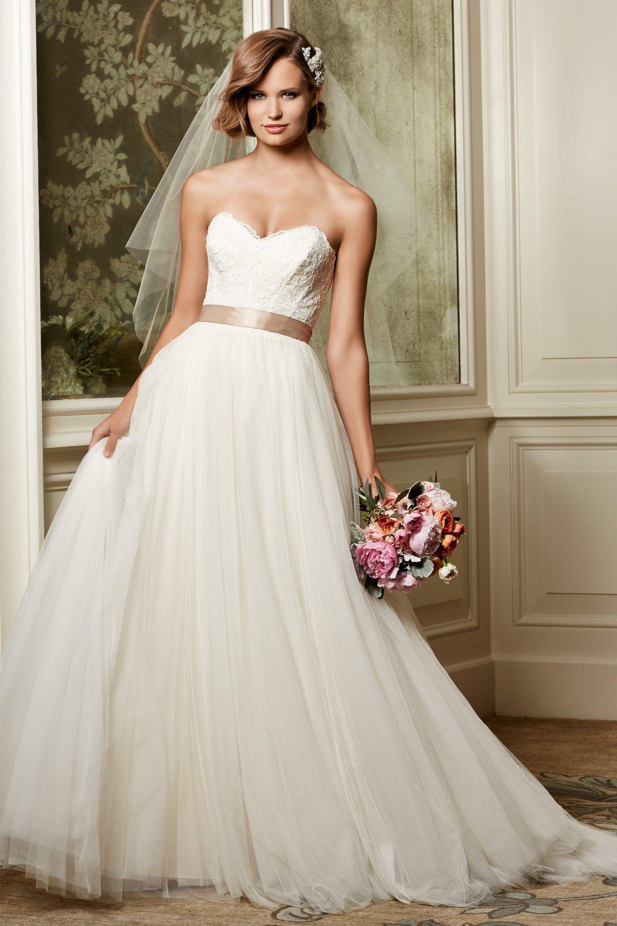 Watters Wtoo Agatha 13704 Size 14 Wedding Dress