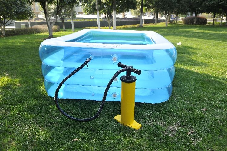Tricyclic Thickening Heightening The Family Swimming Pool For Adults Childrens Wading Inflatable Toys