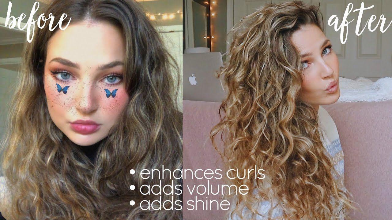 How I Plop My Wavy Hair Overnight 2b 2c 2b2c Hair Overnight Plop Wavy 2b2c2b2c Hair Overnight P In 2020 Wavy Hair Overnight Wavy Hair Care Plopping Curly Hair