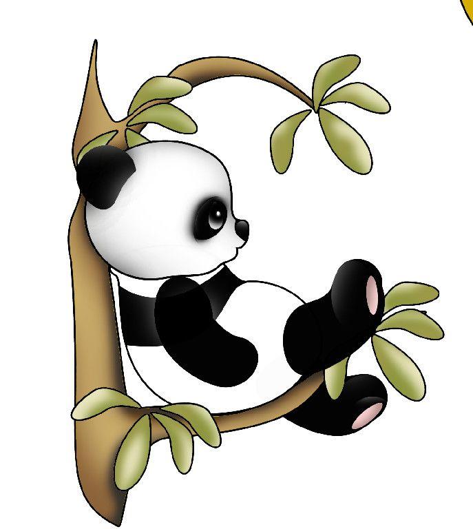Precious Piecings Scrapbook Paper Piecings Panda Art Cute Panda Drawing Panda Drawing