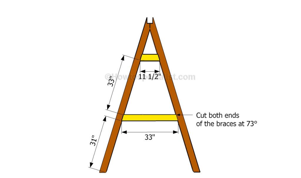 How to build an a-frame swing | Backyard Projects | Pinterest ...
