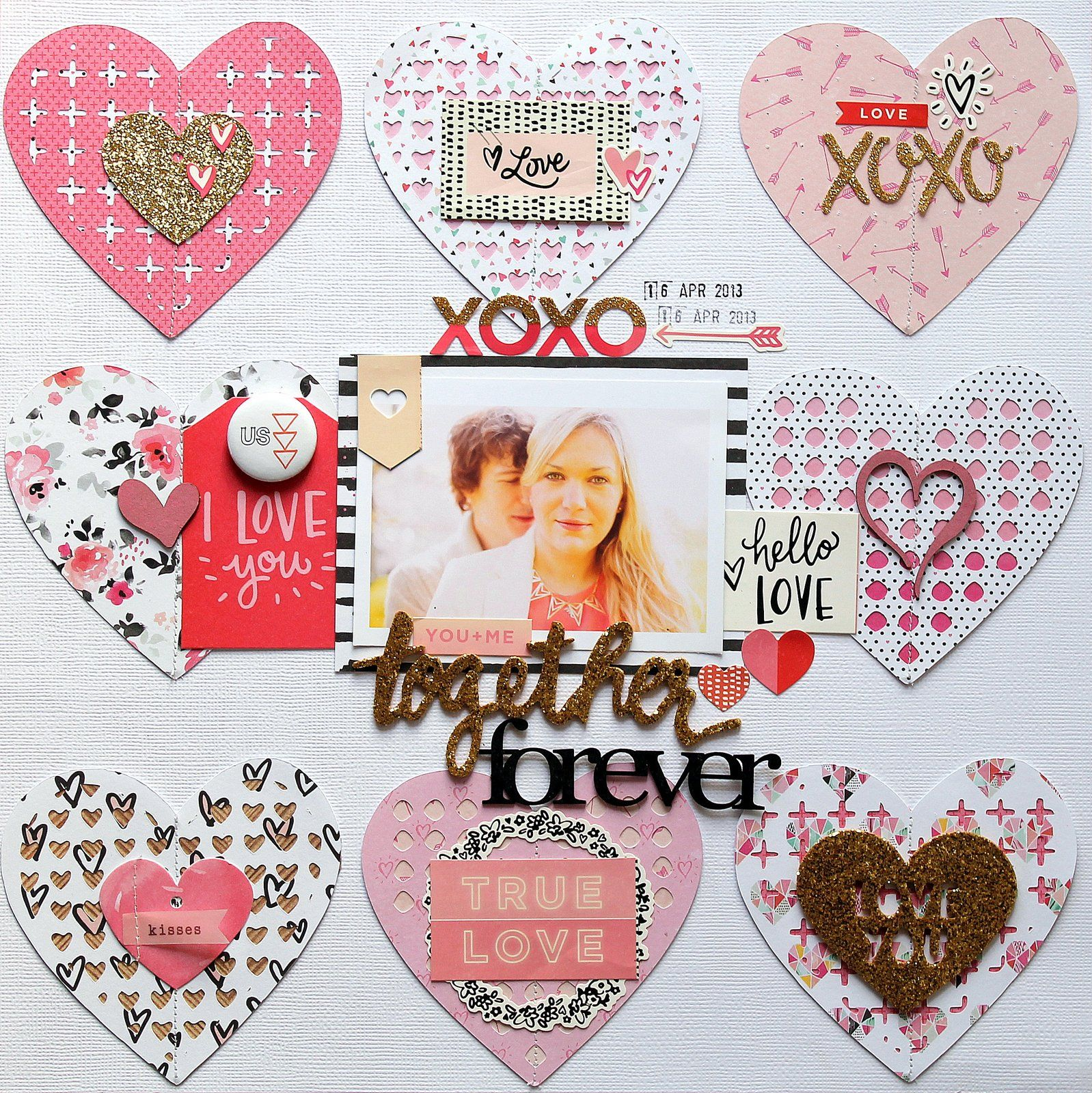 Together Forever Scrapbook A Scrappy Good Time Layouts