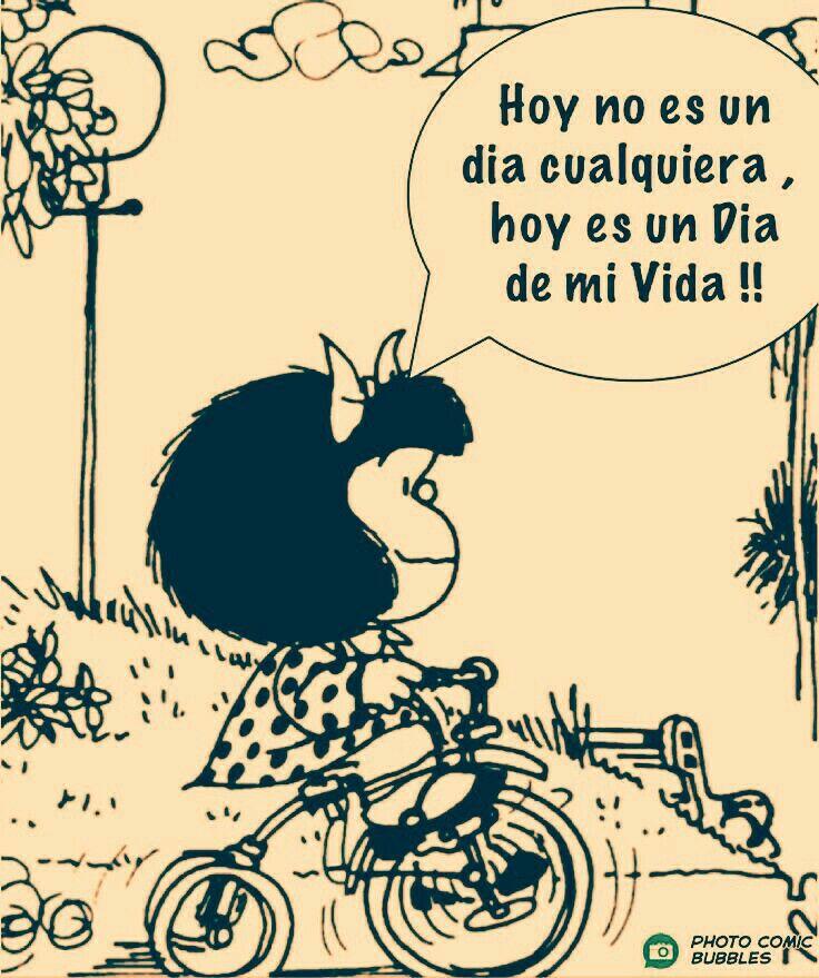 Mi Cumpleaños Mafalda Mafalda Frases Cumpleaños Mafalda
