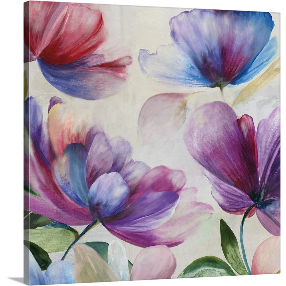 Greatbigcanvas Wanting By Asia Jensen Canvas Wall Art Multi Color Abstract Canvas Painting Abstract Canvas Painting