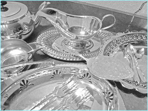 Silverware for Hire from High Tea Hire Napier NZ