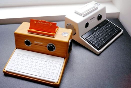 iPad Desktop Stands Transforms Your Tablet Into A Retro