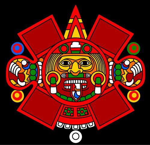 Tonatiuh My Life Pinterest Aztec Mythology And Aztec Art