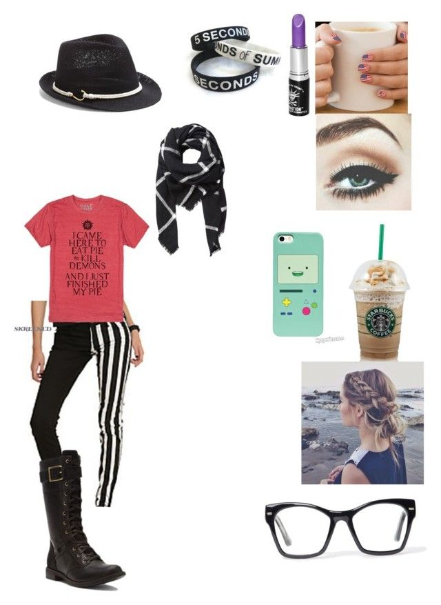 """Untitled #46"" by makayla-posey ❤ liked on Polyvore featuring Manic Panic, Tripp, Timberland, Vince Camuto, Witchery and Spitfire"