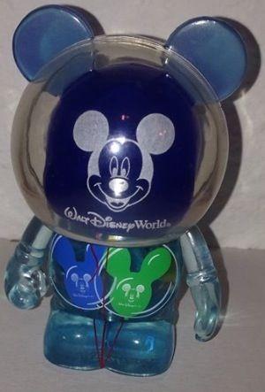 A Blue Walt Disney World AP Balloon Prototype Vinylmation Surfaces