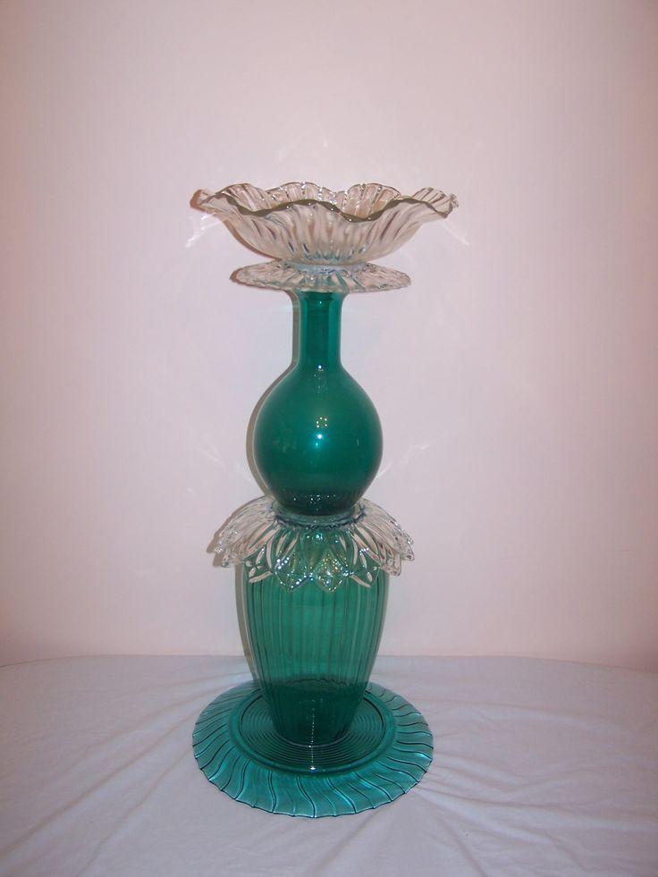 Garden Glass Art | Glass Garden Sculpture