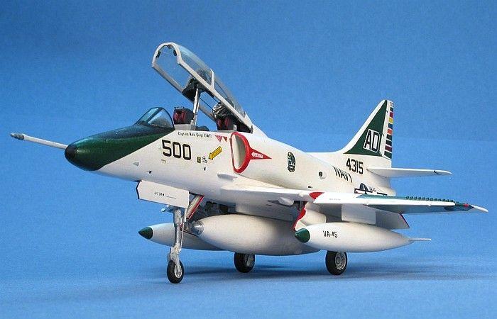 TA-4J Skyhawk by David W. Aungst (Minicraft/Hasegawa 1/72)