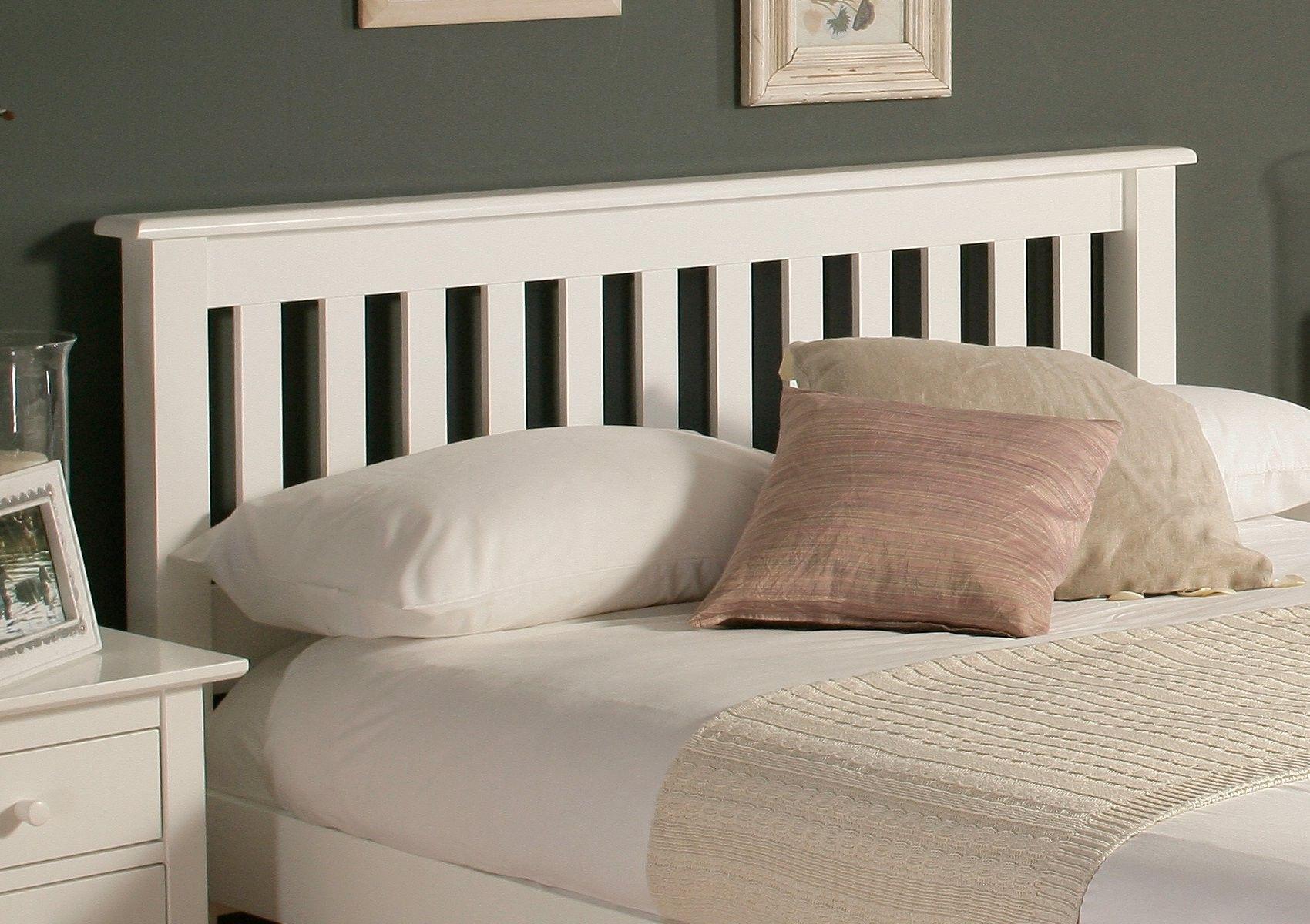 Bedroom FurnitureSingle Bed Wooden Headboards Low