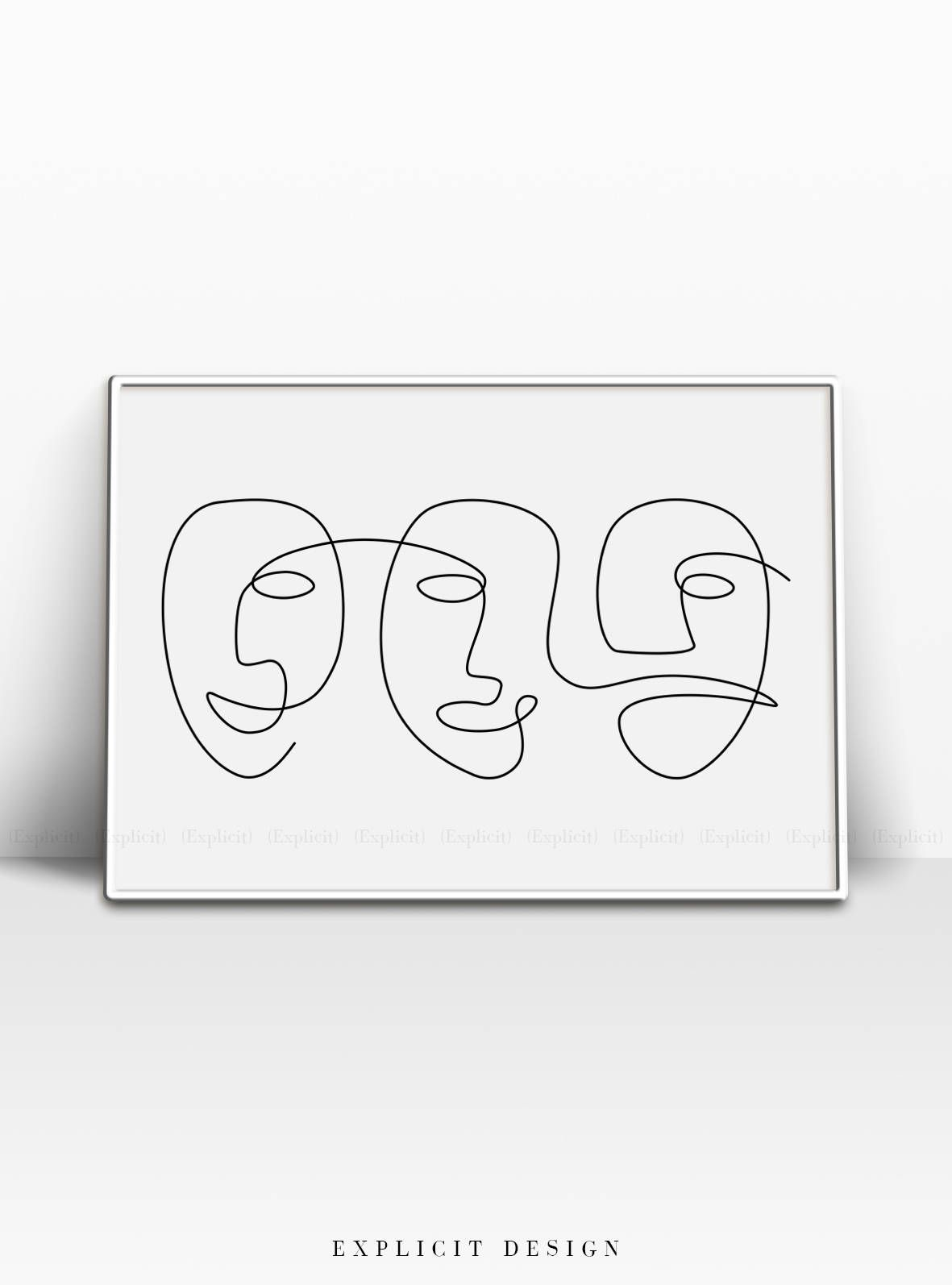 f3379abbfee Abstract Carnival Face Printable