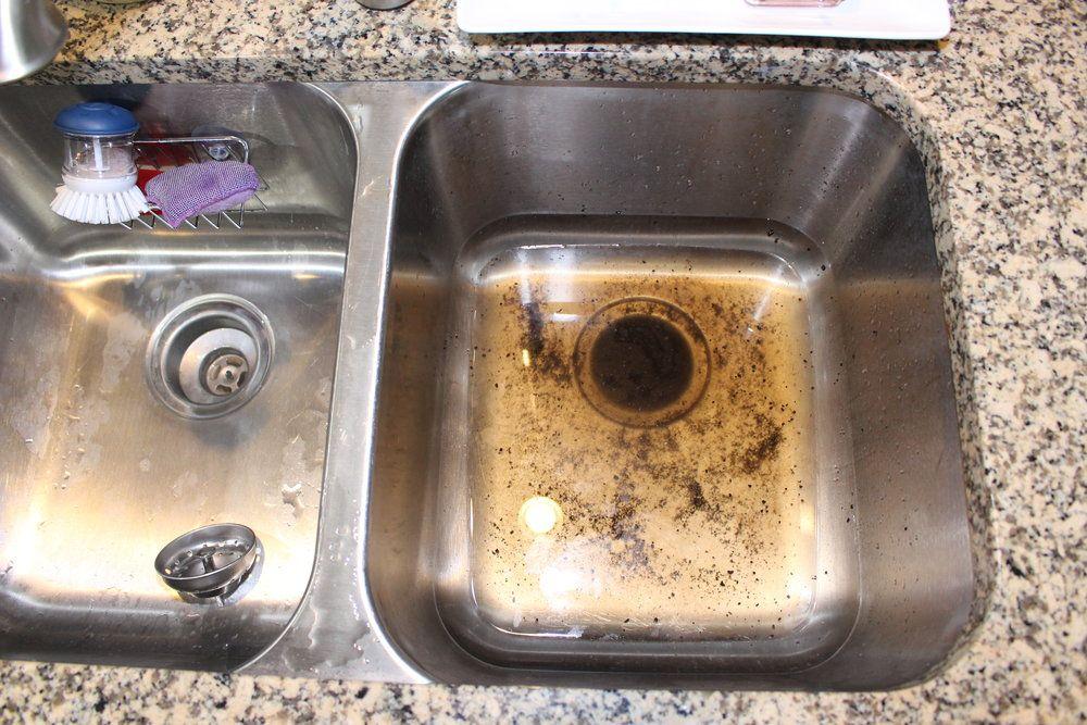 clogged garbage disposal