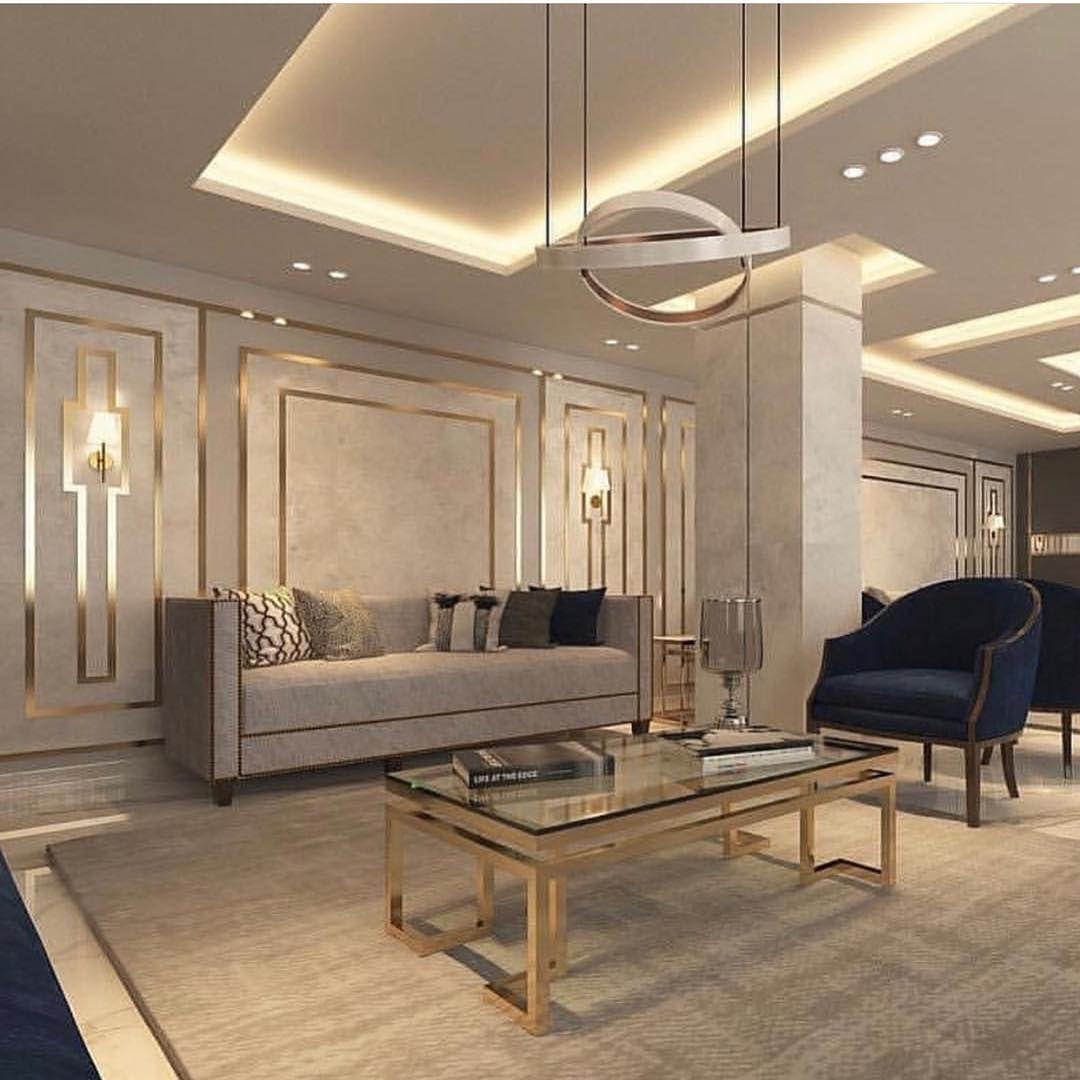 أصباغ وديكورات ورق جدران ثرى دى2019 احدث تصاميم الأصباغ الحديثه قواطع جبس مبور Living Room Design Decor Luxury Living Room Decor Living Room Design Modern