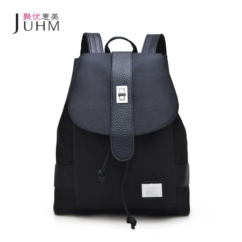 JUHM Brand Women Backpack Spring Summer Waterproof Oxford Drawstring School  Bags For Teenagers Girls Female Travel 71c37462e2511