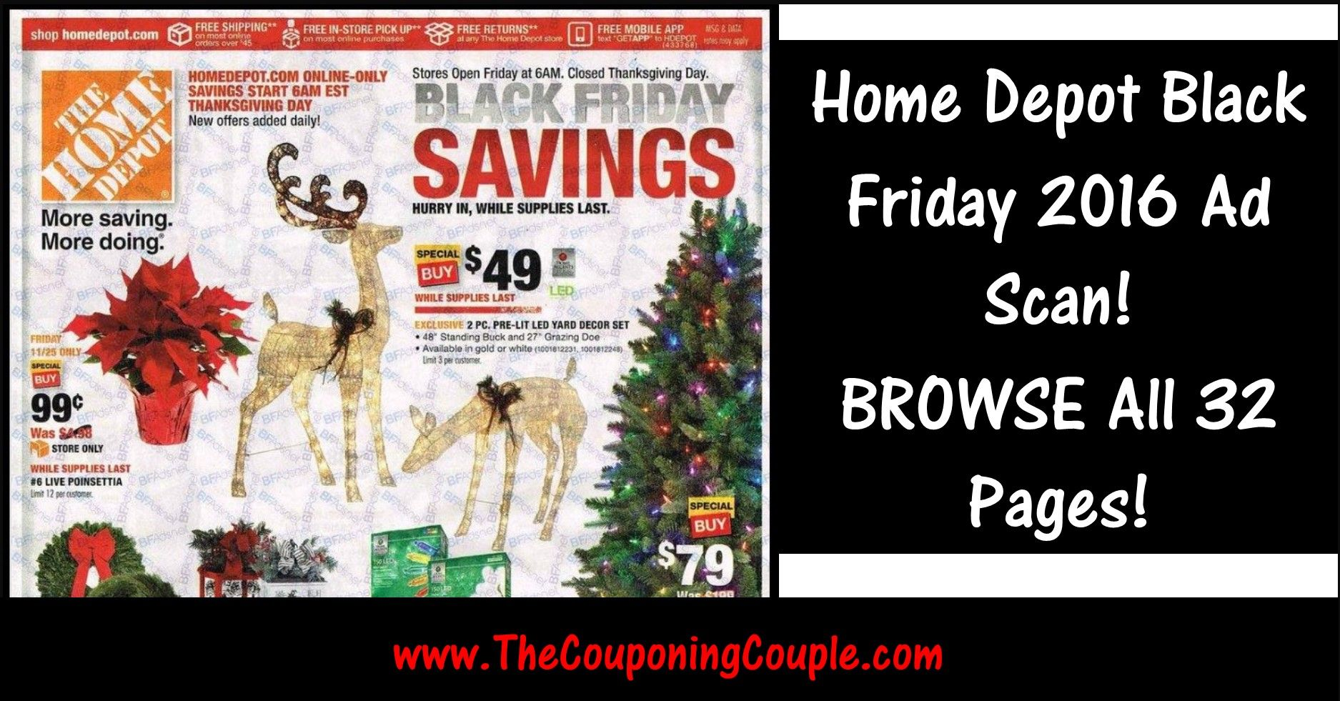Home Depot Black Friday 2019 Ad ~ BROWSE the Ad! | Black ...