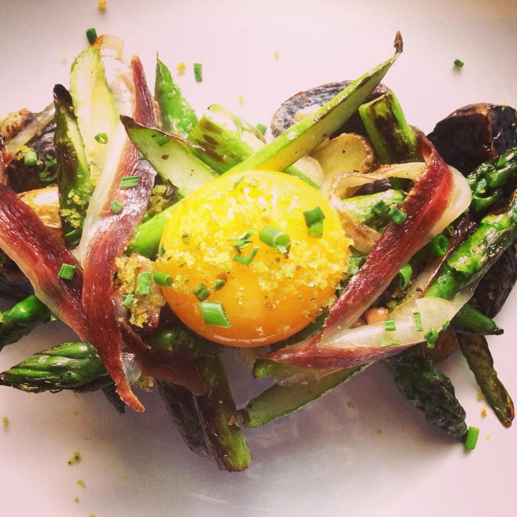 715 restaurant on food restaurant asparagus