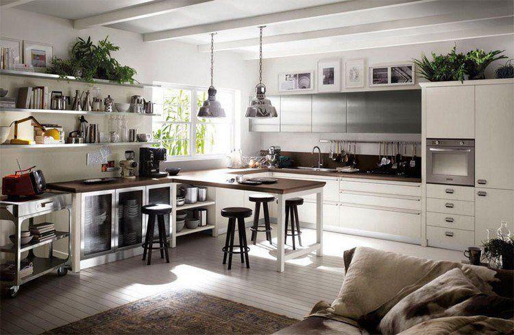 couleur cuisine tendance 2017 zoom sur les classiques et les intrus cuisine kitchen design. Black Bedroom Furniture Sets. Home Design Ideas