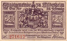 GERMANY 1920 25 NOTGELD EMERGENCY ISSUED BANK NOTE #12 in a Protective Sleeve