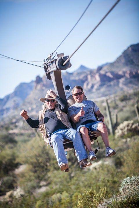 Zip Lining In Prescott Arizona